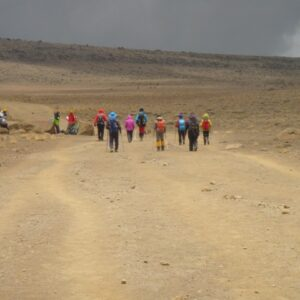7 Day Machame route